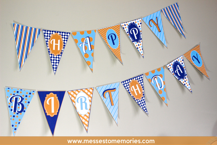 WHooo Wants a Happy Birthday Banner?! Best part? It's free AND has an entire matching Owl Birthday Party Kit!