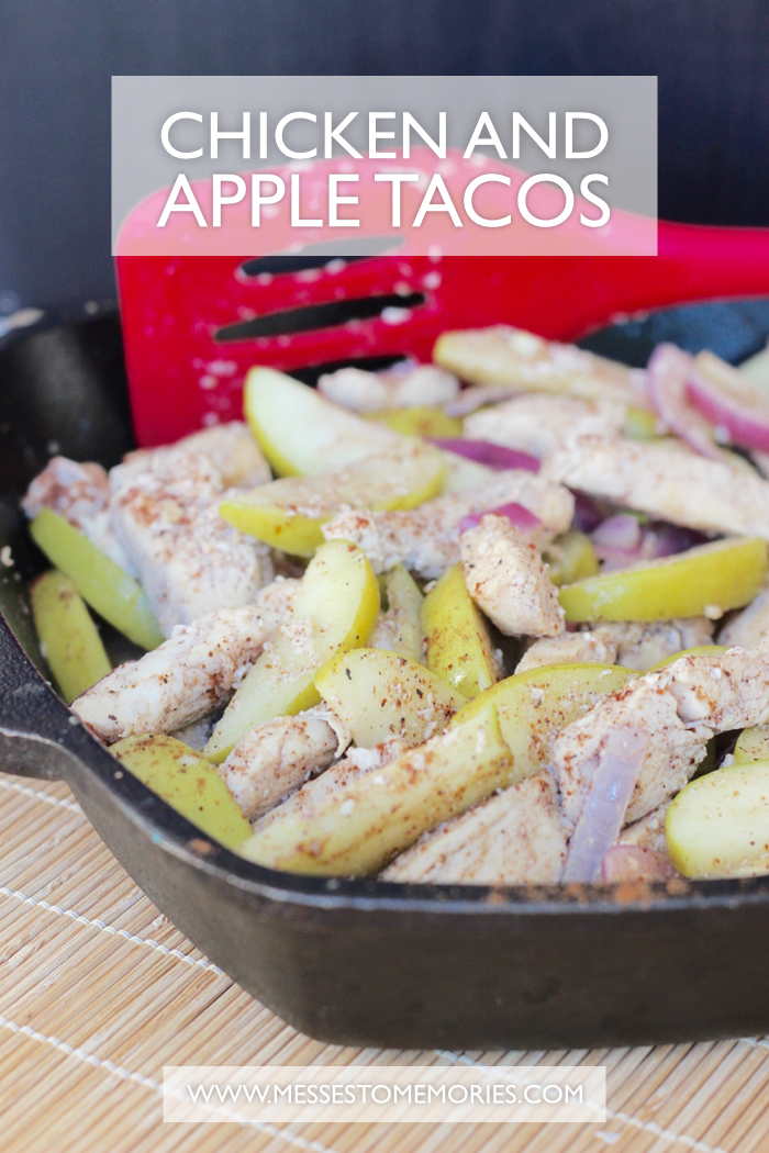 Chicken Apple Tacos